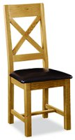 G2140 CROSS BACK CHAIR WITH PU SEAT