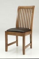 RAIL/SLAT BACK DINING CHAIR