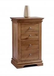 Chambra 4 Drawer Narrow Chest