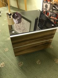 UK CF 1 Drw Lamp Table/ Audio visual unit