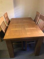 Winchester Dining Table & 4 Chairs