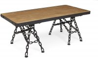 BVCTC Boston coffee table with chain legs
