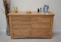 KNIGHTSBRIDGE 6 DRAWER LONG CHEST