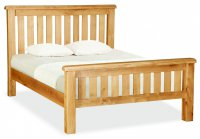 "Clumber 4'6"" Slatted Bed"
