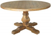Camrose Reclaimed Round Dining Table