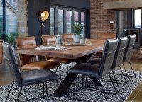 Bahama 200cm Holburn Dining Table & 6 Cooper Dining Chairs....SPECIAL OFFER