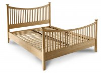 SB/2009N SET  -  150CM HIGH END BED AND SLATS