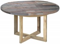 Sorrento Reclaimed Round Extending Table