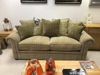 Wade Barnaby Large Sofa Fabric Pillow Back & Chair
