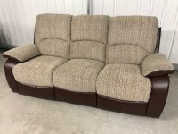 Kansas 3Str Recliner Sofa