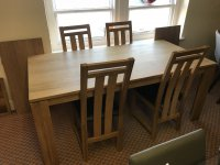 Mayfair Dining Table & 4 Chairs