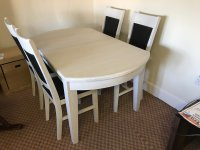 Moreno Dining Table & 4 Chairs