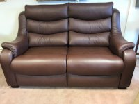 Denver  2 Seater Leather