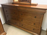 Willis & Gambier Louis Philippe 4 + 4 Drawer Chest