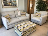 Balmoral Large Sofa,Chair & Storage Ottoman