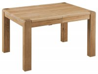 Oslo Oak Small Extending Dining Table