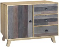 SRD-010 Sorrento Reclaimed Small Sideboard