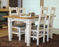 Coelo Dining Table & 4 Chairs
