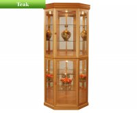 Sutcliffe Teak 829 Corner Display