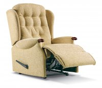 Lynton Royale Rechargeable Powered Recliner - Dark Beech Knuckles
