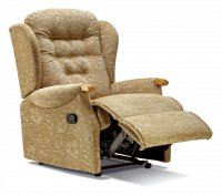 Lynton Standard Rechargeable Powered Recliner - Dark Beech Knuckles
