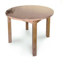 Normandy Round 106cm Dia Fixed Top Dining Table