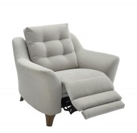 Pip Fabric Power Recliner Chair