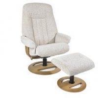 Esprit Large Swivel Chair & Stool