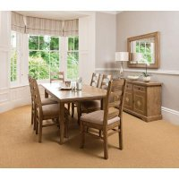 Antigua Dining Table & 4 Chairs