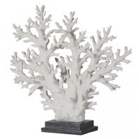 White Coral Tree On Stand