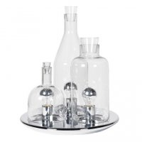 Glass Bottles Table Lamp