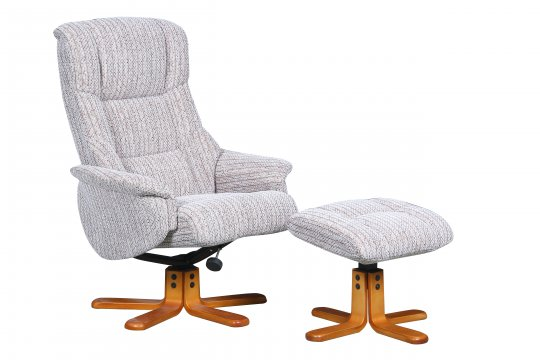 Saratoga Swivel Chair & Stool