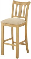 Portland Bar Stool - oak