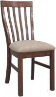 Driftwood Reclaimed Pine Dining Chair with Padded Seat