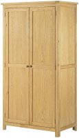 Portland 2 Door Wardrobe - oak