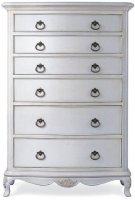 Willis & Gambier Ivory 6 Drawer Chest