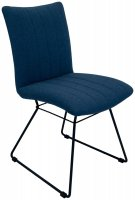 Avignon Chair in Mineral Blue
