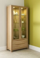 Stockholm Tall Display Cabinet
