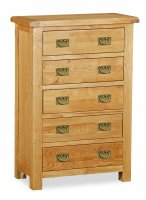 Clumber 5 Drawer Chest