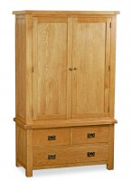 Clumber Gents 3 Drawer Wardrobe