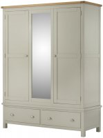 Portland Triple Wardrobe - 5 Colours available