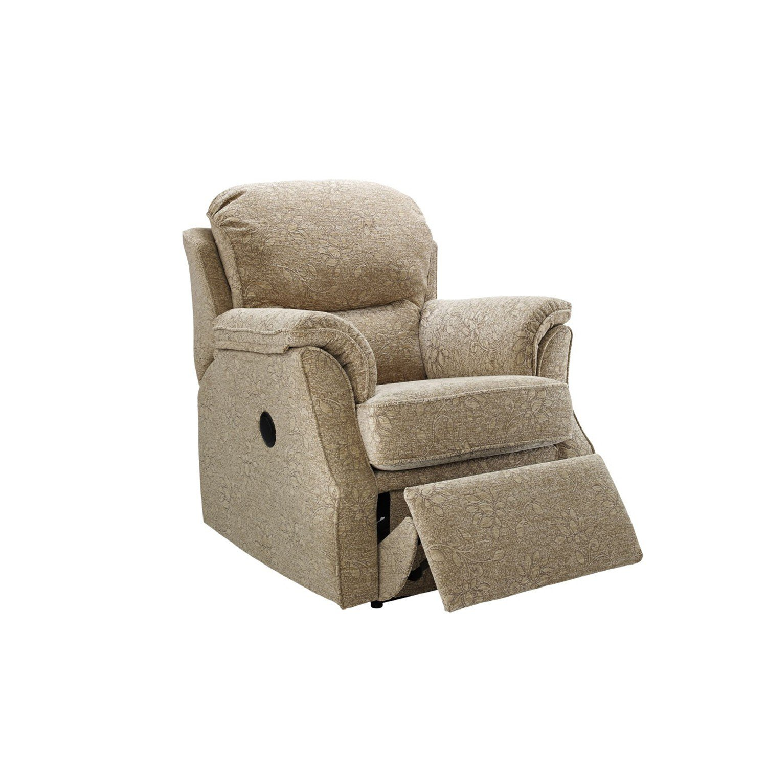 Stupendous Small Manual Recliner Chair Bralicious Painted Fabric Chair Ideas Braliciousco