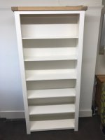 Charltons Bretange Large painted Bookcase