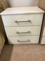 Rauch Telde 3 Drawer Bedside Chest