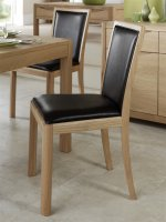 Stockholm Bonded Leather Dining Chair