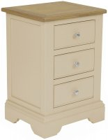 Harmony 3 Drawer Bedside