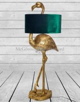 Flamingo Floor Lamp in Gold