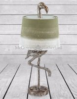 Flamingo Table Lamp in Silver