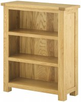 Portland Small Bookcase - oak