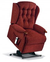 Lynton Royale 1-motor Electric Lift Recliner - Dark Beech Knuckles